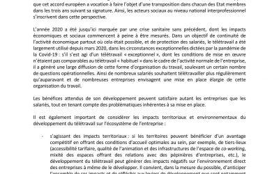 Télétravail-Conseils en plein accord avec l'Accord National Interprofessionnel (ANI) du 24 novembre 2020